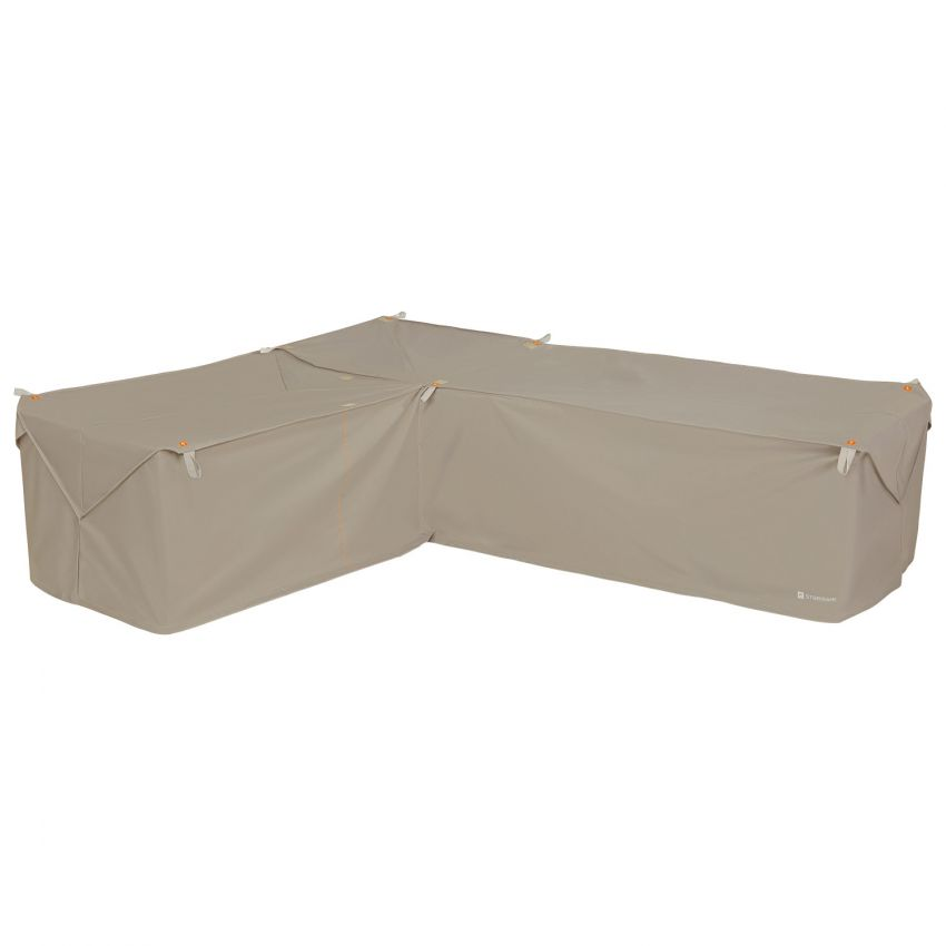 Classic-Accessories-Storigami-Water-Resistant-104-Inch-Easy-Fold-Patio-Left-Facing-Sectional-Lounge-Set-Cover-Goat-Tan