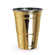 Load image into Gallery viewer, Gold Party Cup - Backyard Home Oasis
