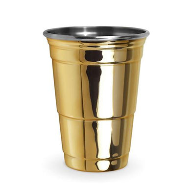 Gold Party Cup - Backyard Home Oasis