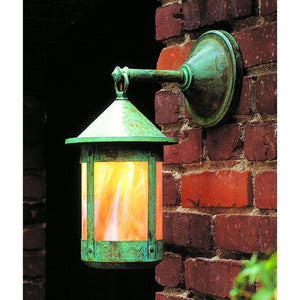 Berkeley 10 Inch Tall 1 Light Outdoor Wall Light by Arroyo Craftsman