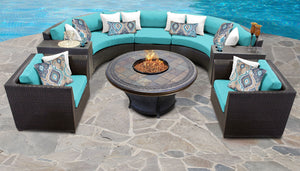 Barbados 8 Piece Outdoor Wicker Patio Furniture Set 08h