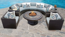 Load image into Gallery viewer, Barbados 8 Piece Outdoor Wicker Patio Furniture Set 08h