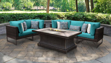 Load image into Gallery viewer, Barcelona 6 Piece Outdoor Wicker Patio Furniture Set 06n