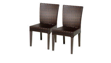 2 Belle Armless Dining Chairs