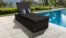 Load image into Gallery viewer, Belle Wheeled Chaise Outdoor Wicker Patio Furniture