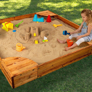 Backyard Sandbox - Honey