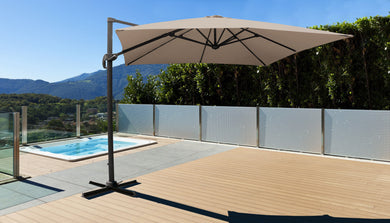 10' Outdoor Cantilever Umbrella