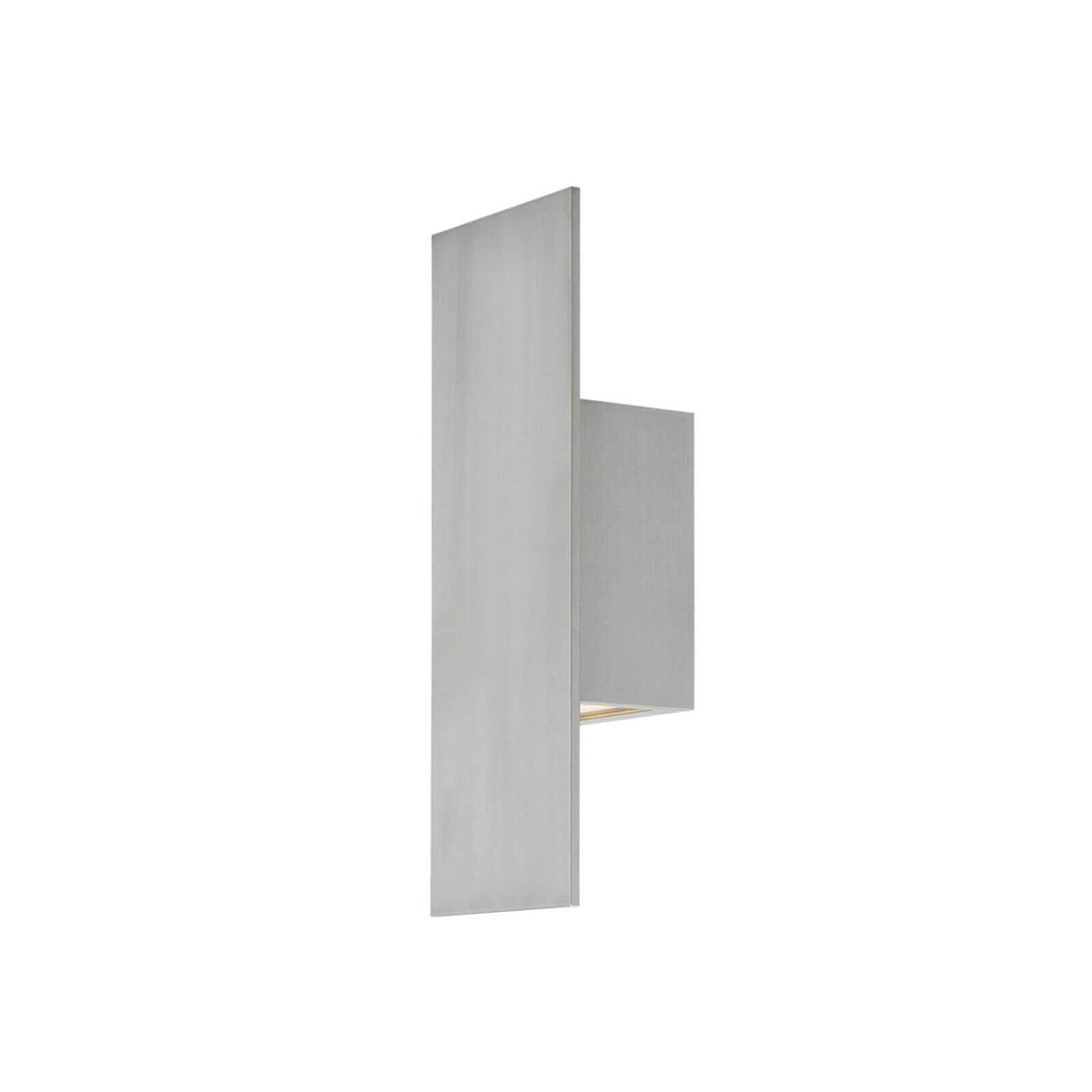 Icon 14 Inch Tall 1 Light LED Outdoor Wall Light by dweLED
