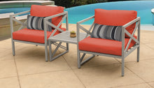 Load image into Gallery viewer, Carlisle 3 Piece Outdoor Wicker Patio Furniture Set 03a