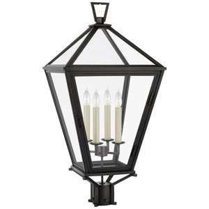 "Chapman & Myers Classic Darlana 34"" Outdoor Post Lamp by Visual Comfort and Co."