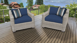 Coast 2 Piece Outdoor Wicker Patio Furniture Set 02b
