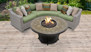 Coast 4 Piece Outdoor Wicker Patio Furniture Set 04e