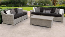 Load image into Gallery viewer, Coast 6 Piece Outdoor Wicker Patio Furniture Set 06p