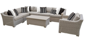Coast 8 Piece Outdoor Wicker Patio Furniture Set 08d