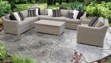 Load image into Gallery viewer, Coast 8 Piece Outdoor Wicker Patio Furniture Set 08d