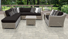 Load image into Gallery viewer, Coast 8 Piece Outdoor Wicker Patio Furniture Set 08g