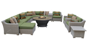 Coast 12 Piece Outdoor Wicker Patio Furniture Set 12c