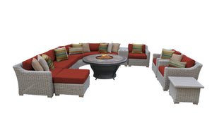 Coast 12 Piece Outdoor Wicker Patio Furniture Set 12f