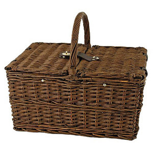 Cape Cod Wicker Picnic Basket