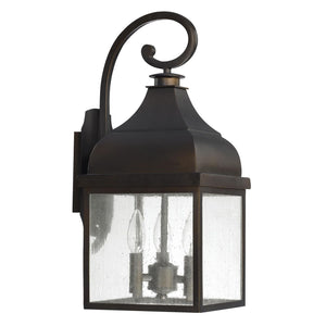 Westridge 20 Inch Tall 3 Light Outdoor Wall Light by Capital Lighting Fixture Company
