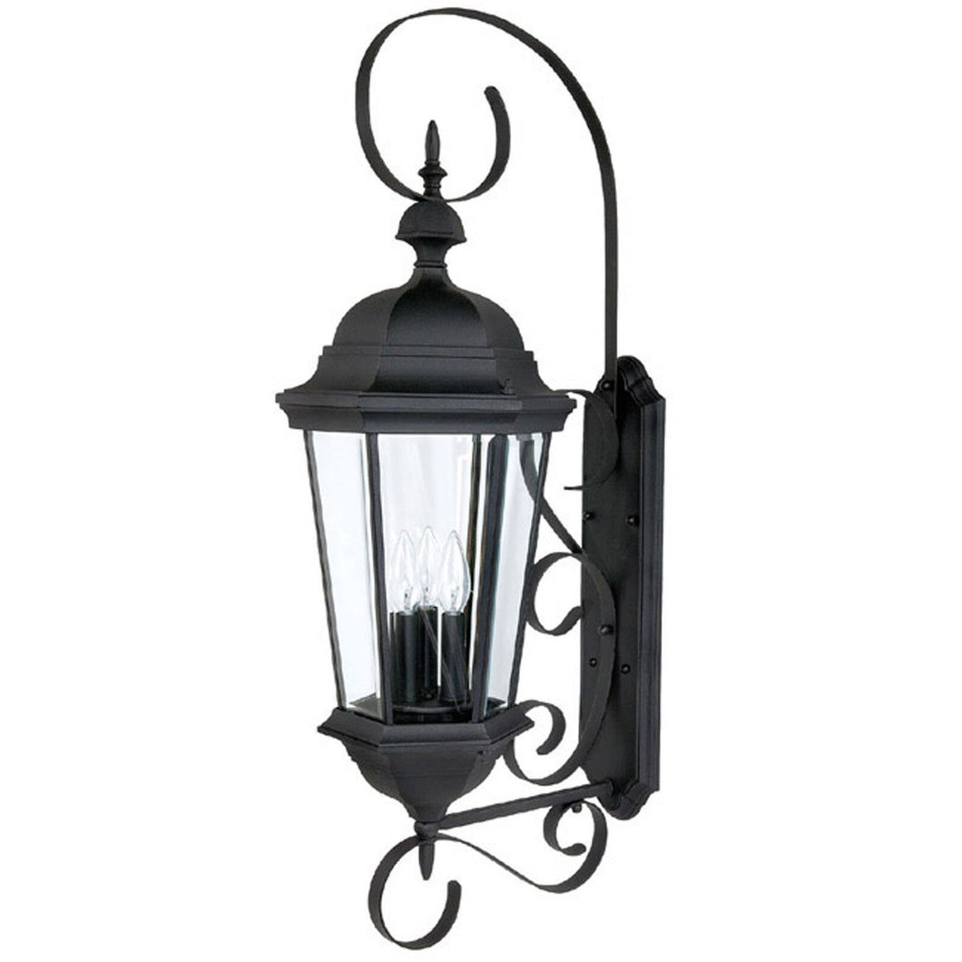Carriage House 36 Inch Tall 3 Light Outdoor Wall Light by Capital Lighting Fixture Company