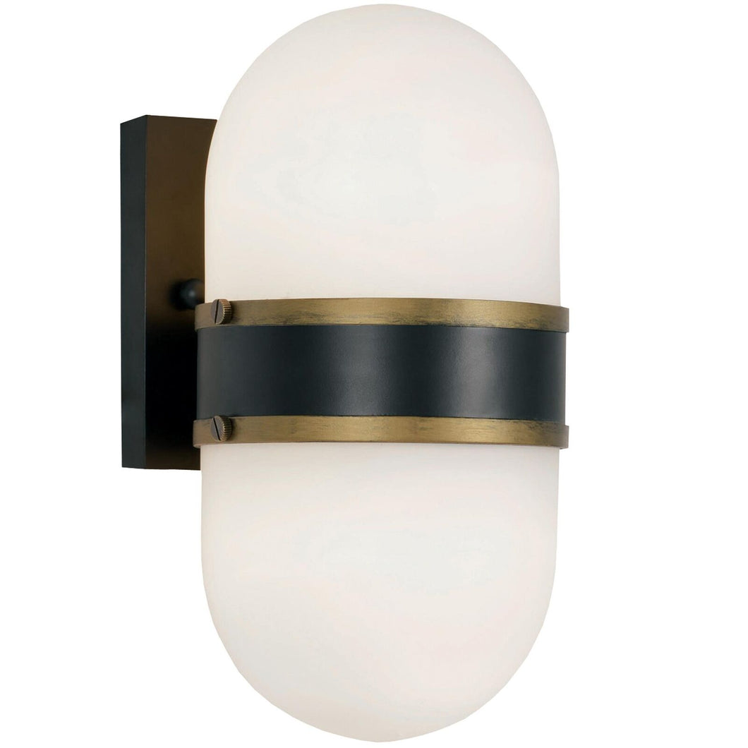Brian Patrick Flynn Capsule 11 Inch Tall 2 Light Outdoor Wall Light by Crystorama