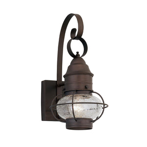 Nantucket 14 Inch Tall 1 Light Outdoor Wall Light by Designers Fountain