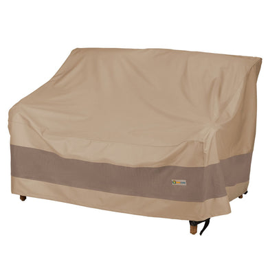 Duck Covers Essential Water Resistant 62 Inch Patio Love Seat Cover