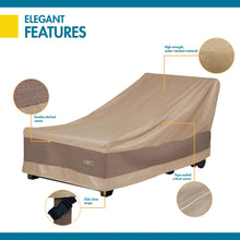 Load image into Gallery viewer, Duck Covers Elegant Waterproof 74 Inch Patio Chaise Lounge Cover