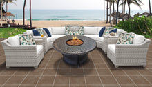 Load image into Gallery viewer, Fairmont 8 Piece Outdoor Wicker Patio Furniture Set 08i