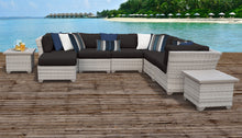 Load image into Gallery viewer, Fairmont 9 Piece Outdoor Wicker Patio Furniture Set 09c