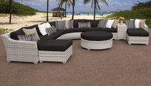 Load image into Gallery viewer, Fairmont 11 Piece Outdoor Wicker Patio Furniture Set 11c