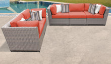 Load image into Gallery viewer, Florence 5 Piece Outdoor Wicker Patio Furniture Set 05a