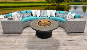 Florence 6 Piece Outdoor Wicker Patio Furniture Set 06a