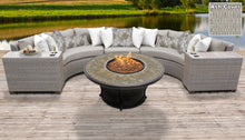 Load image into Gallery viewer, Florence 6 Piece Outdoor Wicker Patio Furniture Set 06a