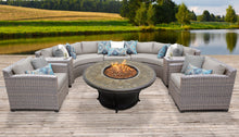 Load image into Gallery viewer, Florence 8 Piece Outdoor Wicker Patio Furniture Set 08f