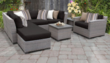 Load image into Gallery viewer, Florence 8 Piece Outdoor Wicker Patio Furniture Set 08g