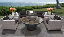 Load image into Gallery viewer, Florence 8 Piece Outdoor Wicker Patio Furniture Set 08k