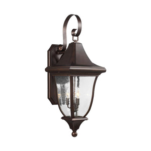 Feiss Oakmont 33 Inch Tall 3 Light Outdoor Wall Light by Generation Lighting