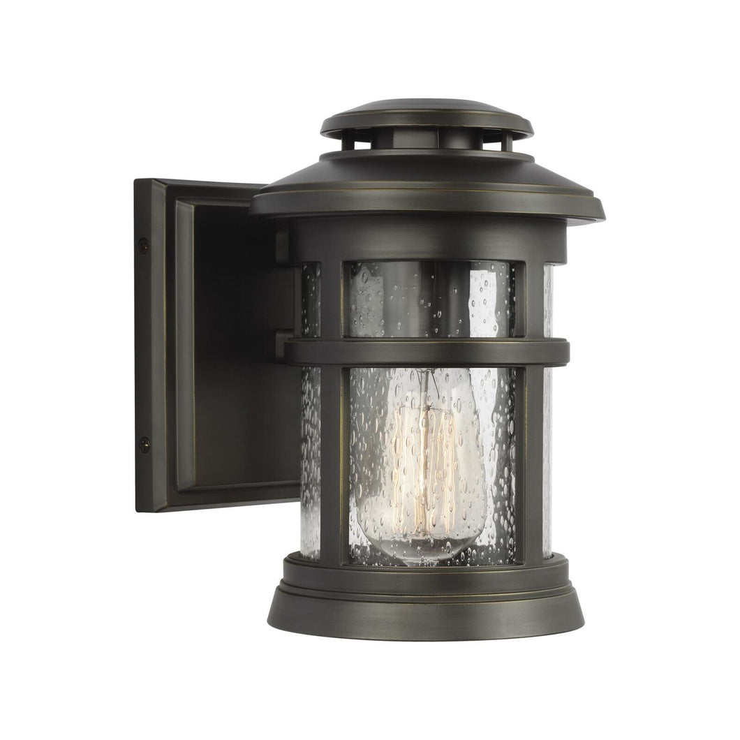 Feiss Newport 9 Inch Tall 1 Light Outdoor Wall Light by Generation Lighting