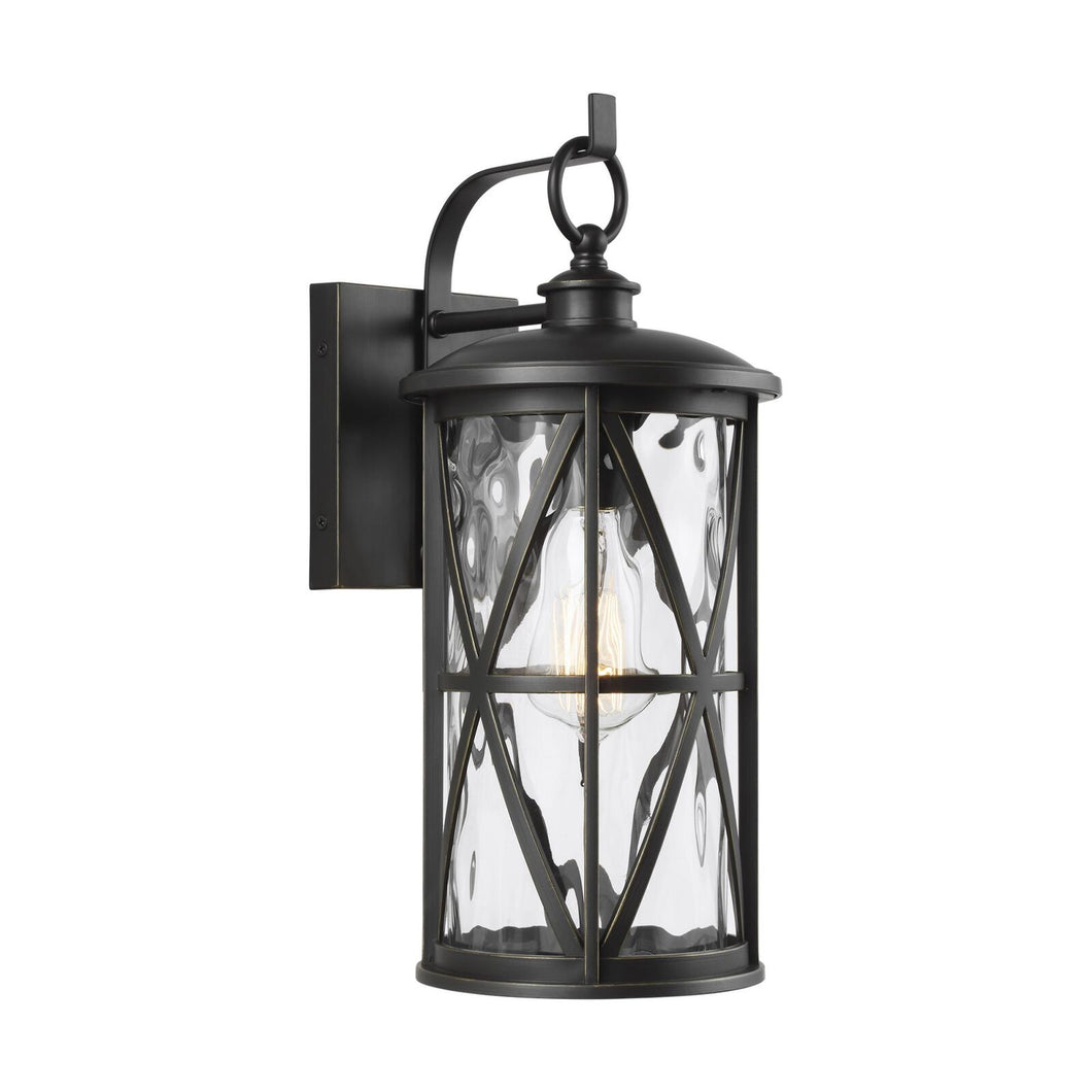 Feiss Millbrooke 15 Inch Tall 1 Light Outdoor Wall Light by Generation Lighting