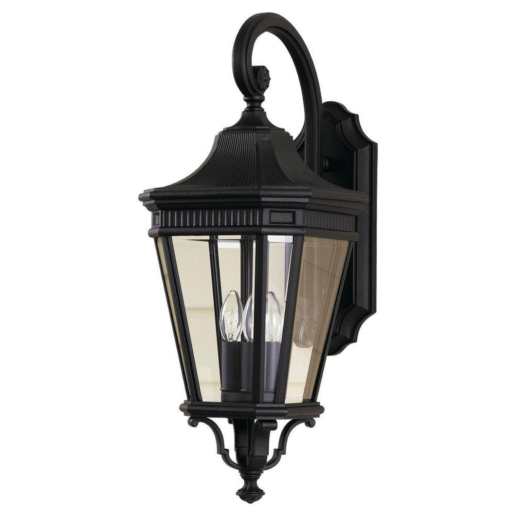 Feiss Cotswold Lane 23 Inch Tall 3 Light Outdoor Wall Light by Generation Lighting
