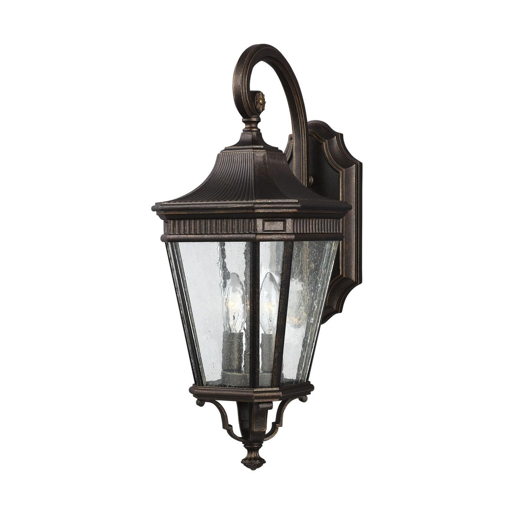 Feiss Cotswold Lane 20 Inch Tall 2 Light Outdoor Wall Light by Generation Lighting