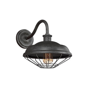 Feiss Lennex 12 Inch Tall 1 Light Outdoor Wall Light by Generation Lighting