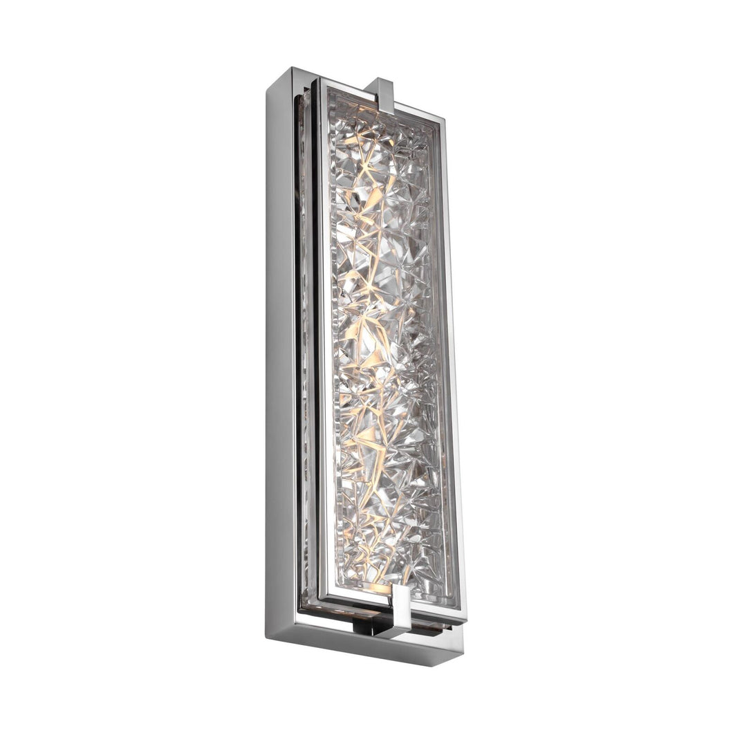 Feiss Erin 19 Inch Tall 1 Light LED Outdoor Wall Light by Generation Lighting