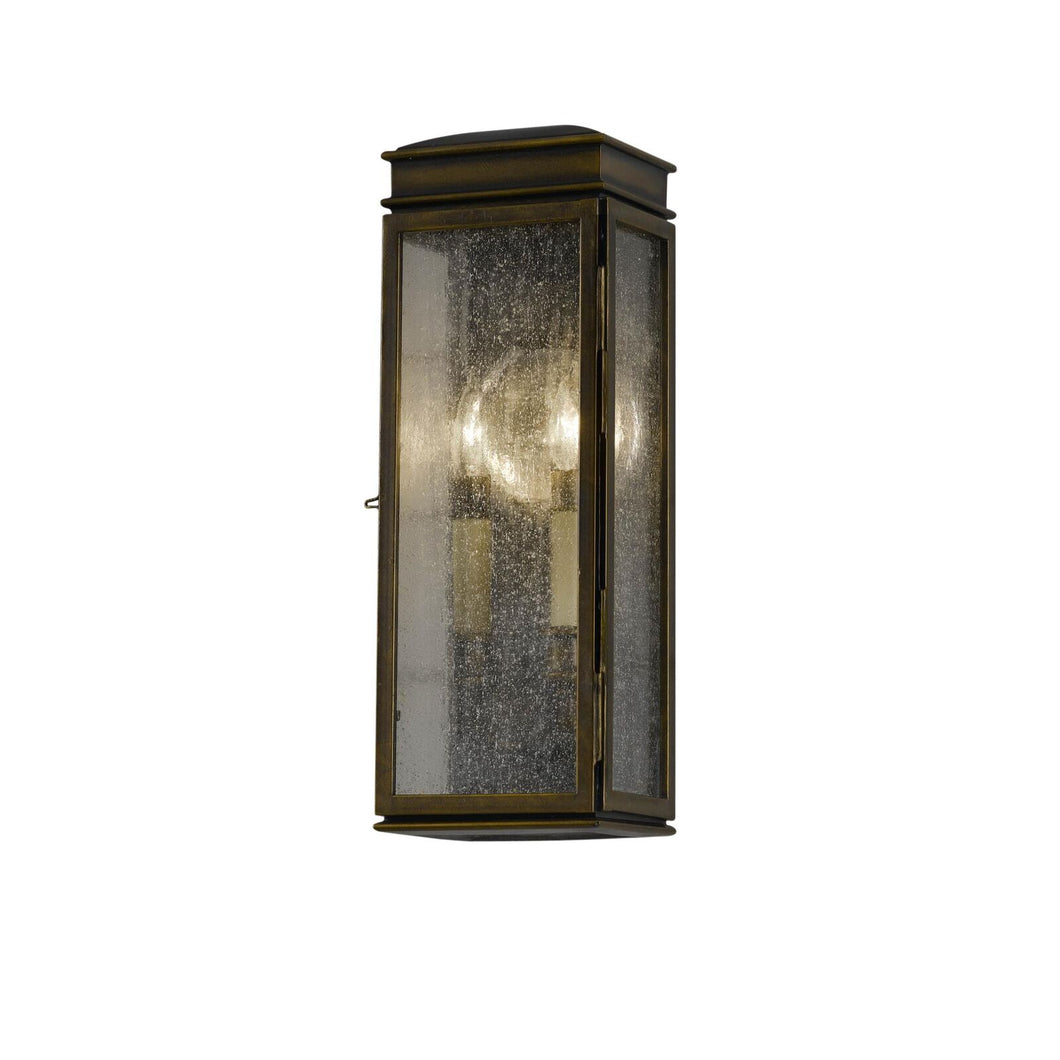 Feiss Whitaker 17 Inch Tall 2 Light Outdoor Wall Light by Generation Lighting