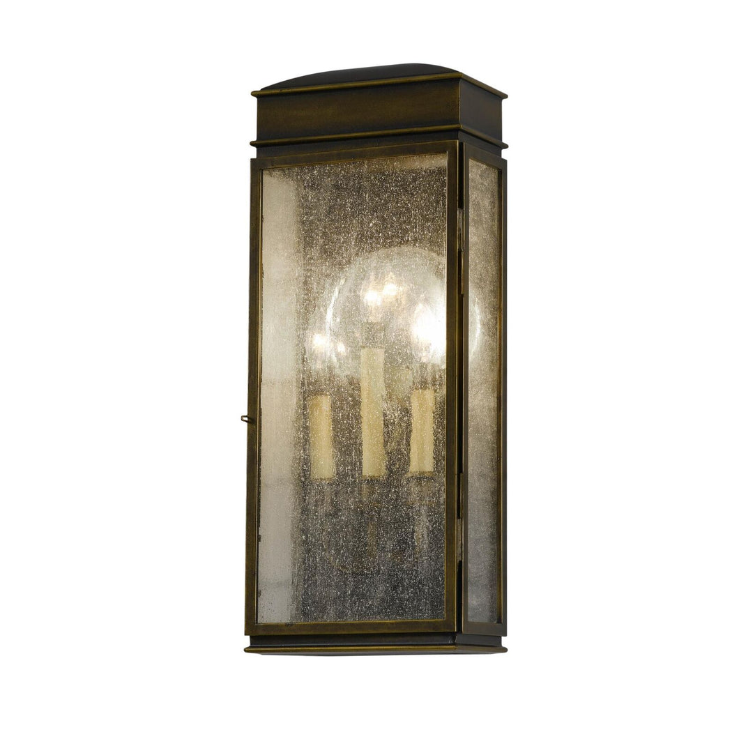 Feiss Whitaker 22 Inch Tall 3 Light Outdoor Wall Light by Generation Lighting