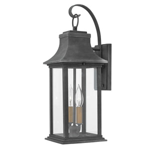 Adair 20 Inch Tall 2 Light Outdoor Wall Light by Hinkley Lighting