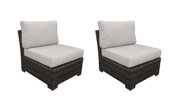 River Brook Armless Sofa (Set of 2)
