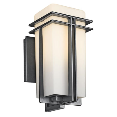 Tremillo 11 Inch Tall 1 Light Outdoor Wall Light by Kichler Lighting